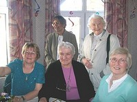 Sr. Nellie with friends