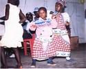 Children engaged in Drama