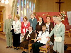 Sr. Agnes Mary with friends