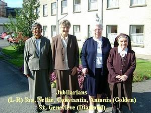 Four Jubilarians